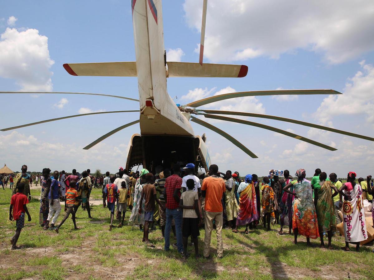 UNICEF, South Sudan, rapid response teams, emergency aid, emergency supplies, humanitarian aid, World Food Program