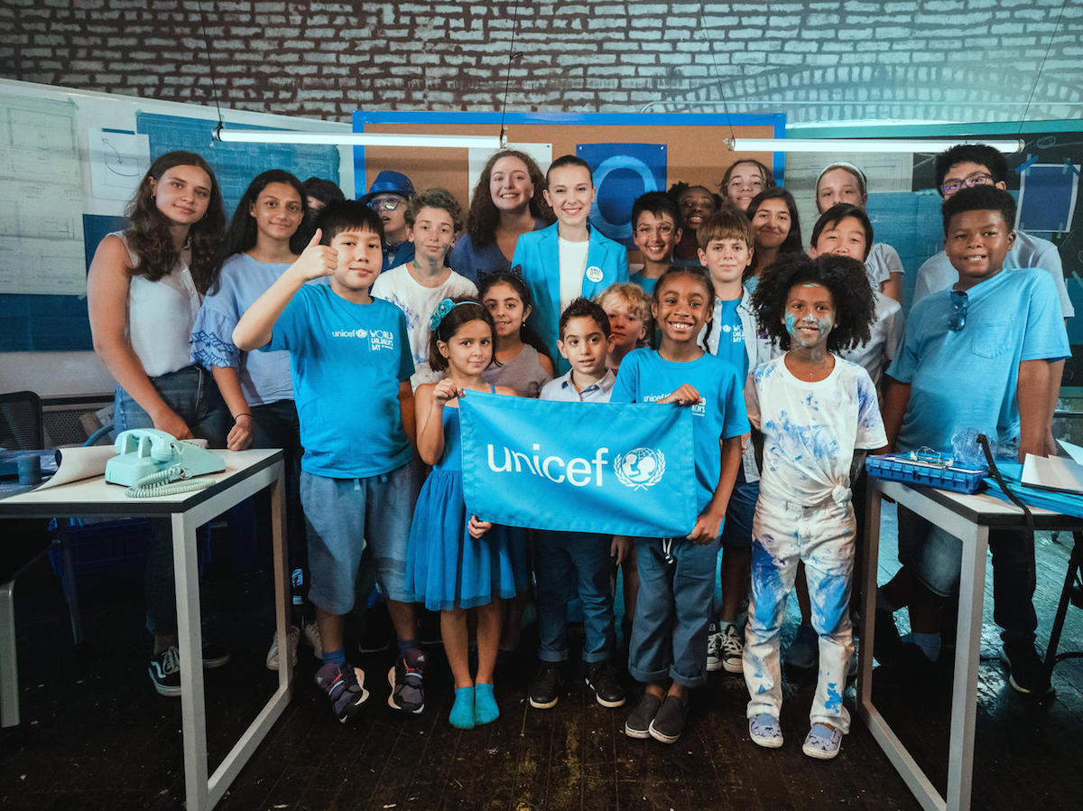 unicef, children's rights, #GoBlue