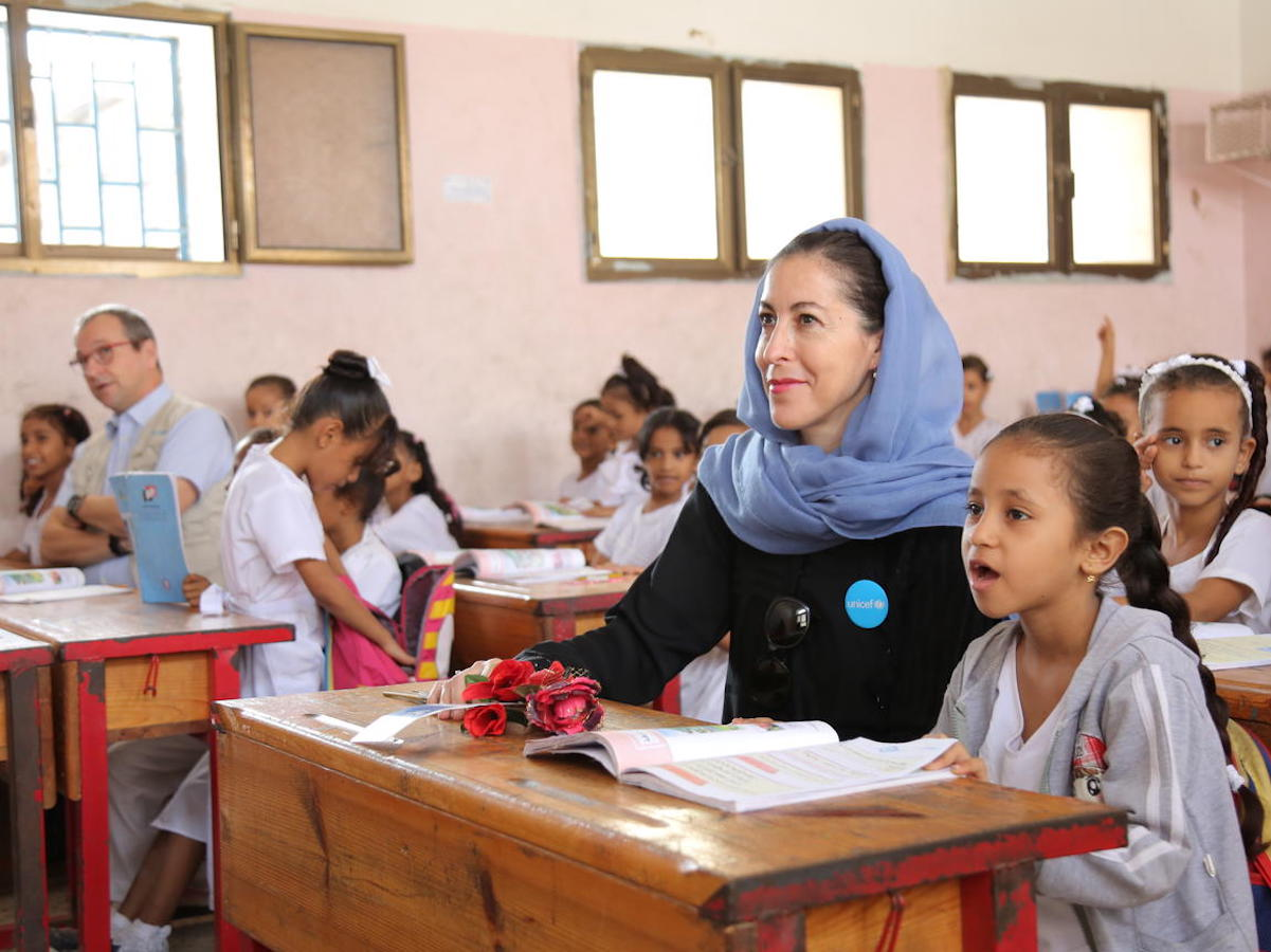 UNICEF, Yemen, humanitarian crisis, education, girls in school