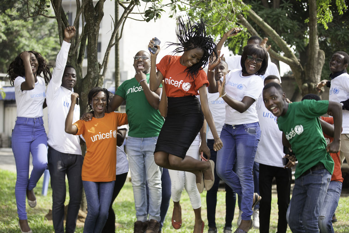 U-Report helps young people in Cote d'Ivoire participate in public debate by sharing their concerns and helping to influence solutions to community problems.