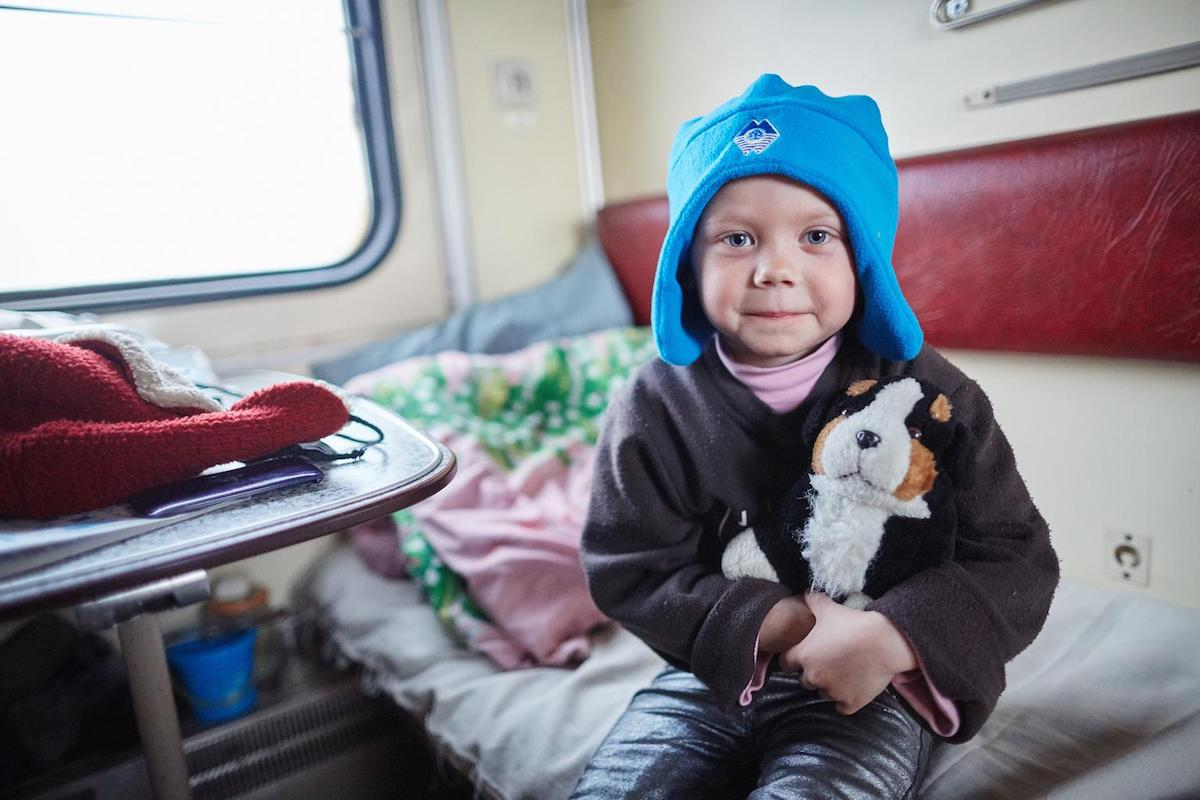 UNICEF, Ukraine, children in conflict