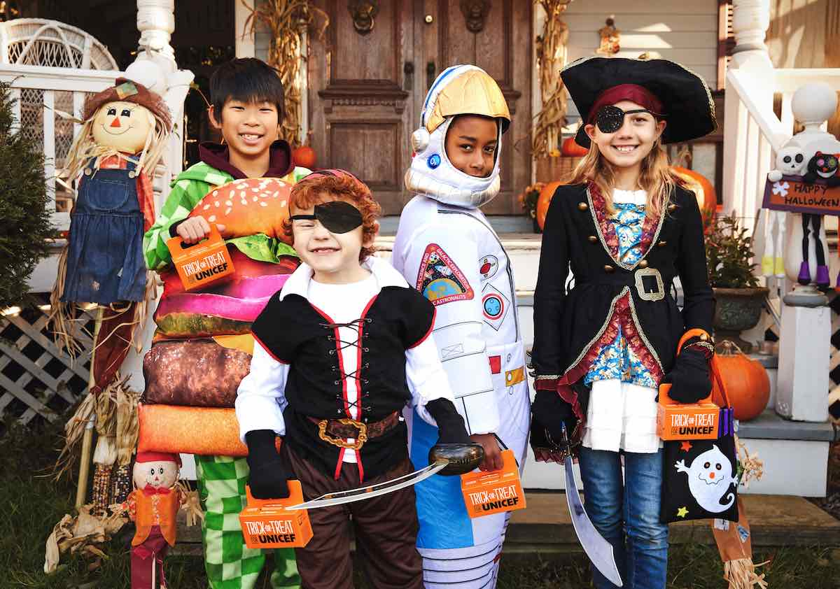 Be Scary Good this Halloween and help other kids around the world by Trick-or-Treating for UNICEF