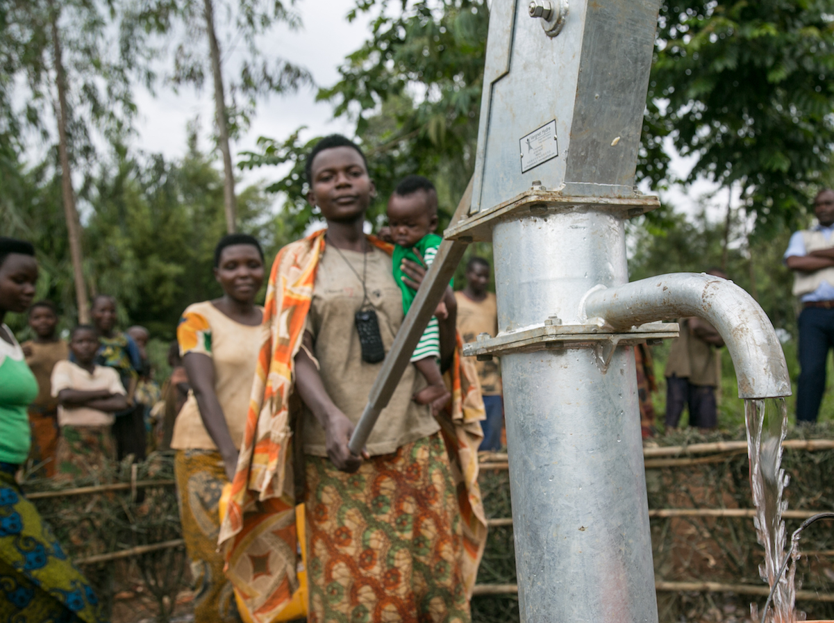 UNICEF and BeyGOOD are improving access to clean, safe water for children in Burundi.
