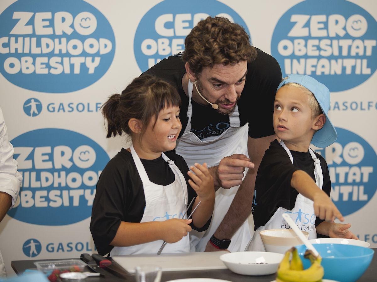 NBA All-Star player and two-time NBA champion Pau Gasol has been appointed as a Global Champion for Nutrition and Zero Childhood Obesity by UNICEF.
