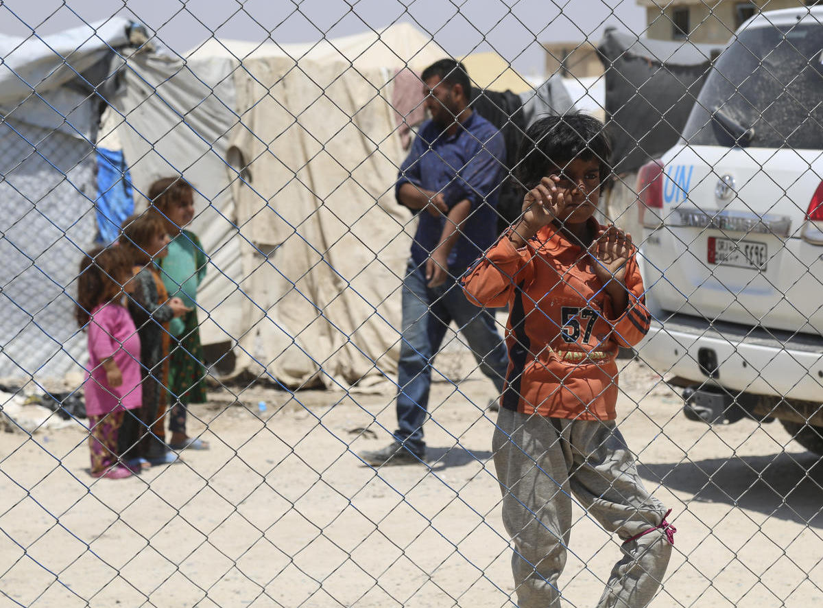 UNICEF and partners are providing lifesaving assistance to 70,000 children and families living in Al-Hol camp in northeastern Syria.