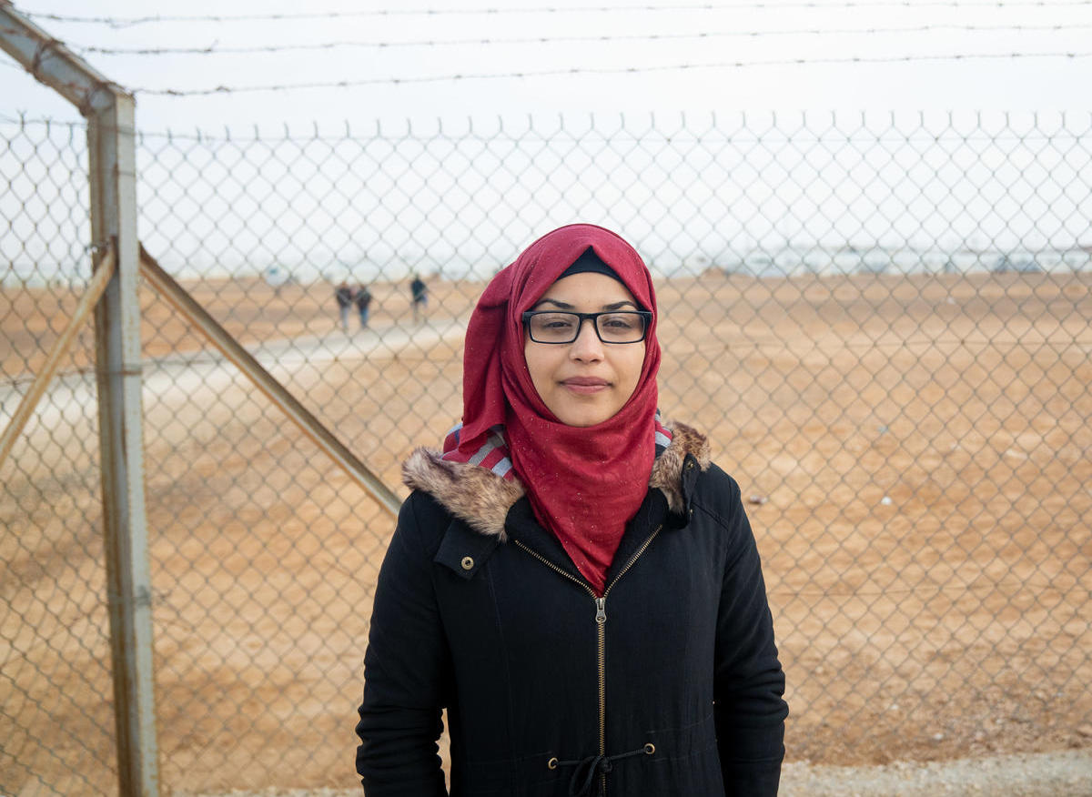 Growing up in Jordan's Azraq refugee camp, 17-year-old 12th grader Bodoor studies hard to fulfill her dreams of becoming an astronomer and the first Syrian woman astronaut.