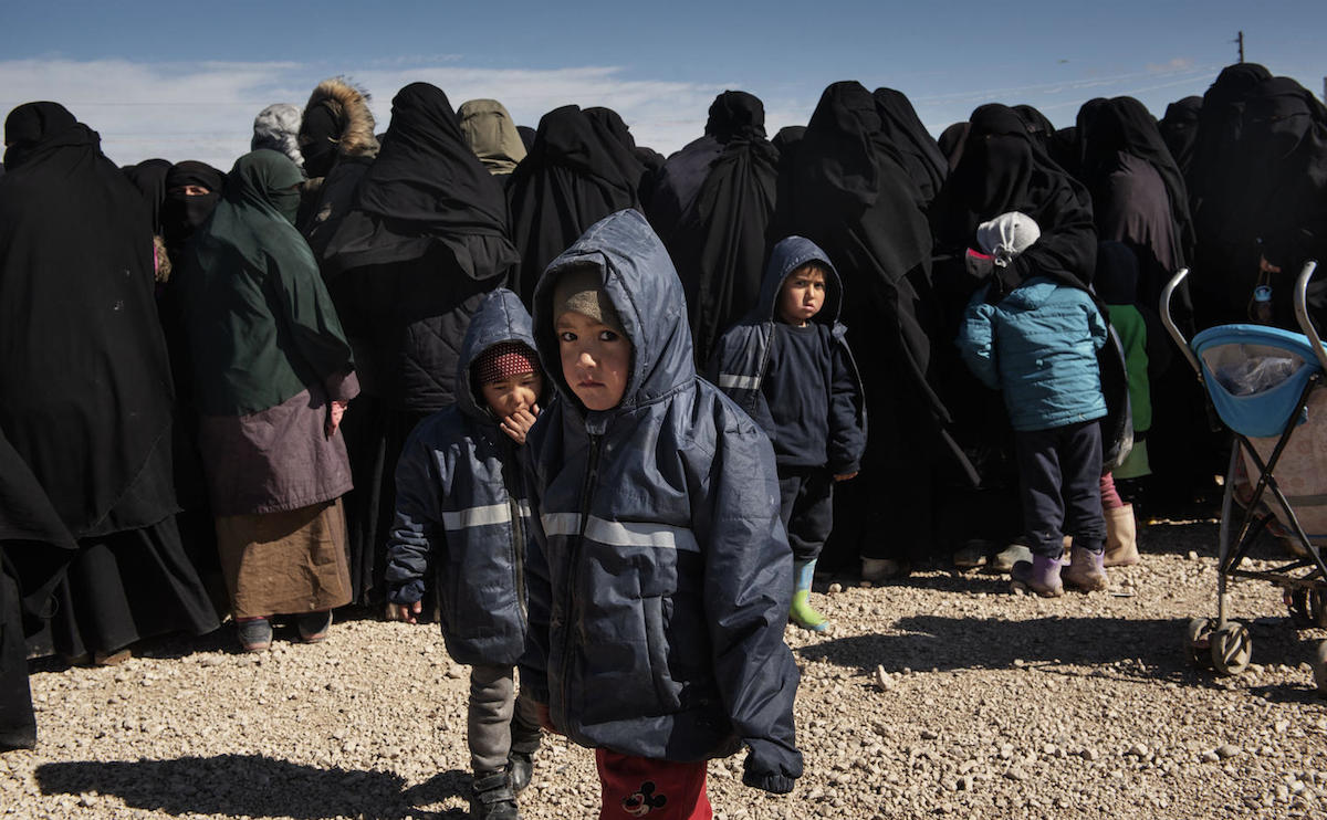 At last count there were more than 7,100 displaced children sheltering in the Al-Hol camp annex in northeast Syria.