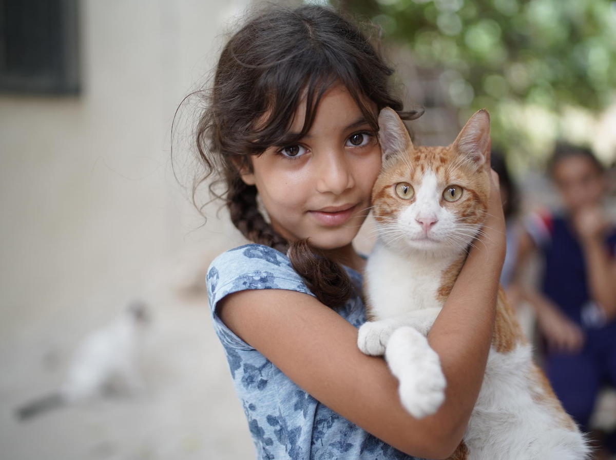 Fatme, 8, and her family were caught in the August 4, 2020 explosion in Beirut.