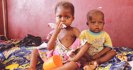 Saving Severely Malnourished Children in Central African Republic