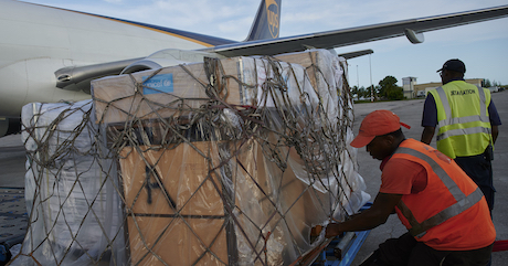 1.5 Tons of UNICEF Supplies Land in Dorian-Devastated Bahamas