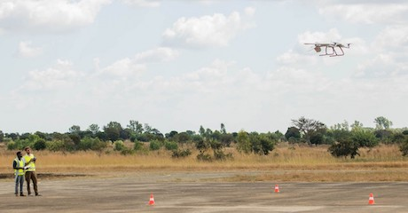 Long-Range Drones Deliver Medical Supplies to Remote Areas of Malawi