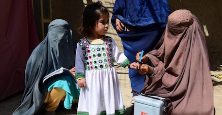 Afghanistan's Polio Vaccinators Won't Stop Until Every Child Is Safe