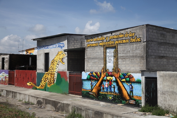 Murals at the Guatemala-Mexico border offer hope to migrants seeking safety and a better life.