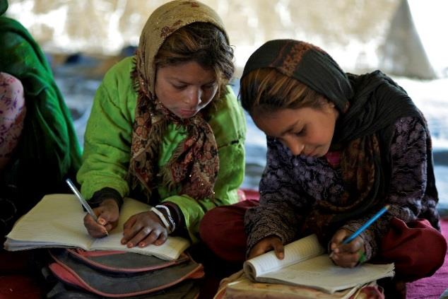 A community based school in Afghanistan