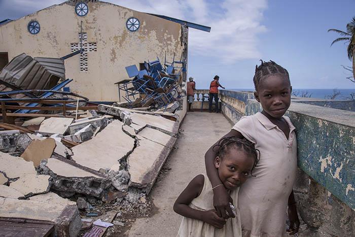Responding to Haitian children affected by Hurricane Matthew