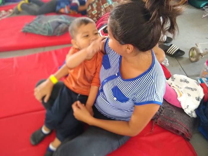 UNICEF, UNICEF Mexico, Central American migrants