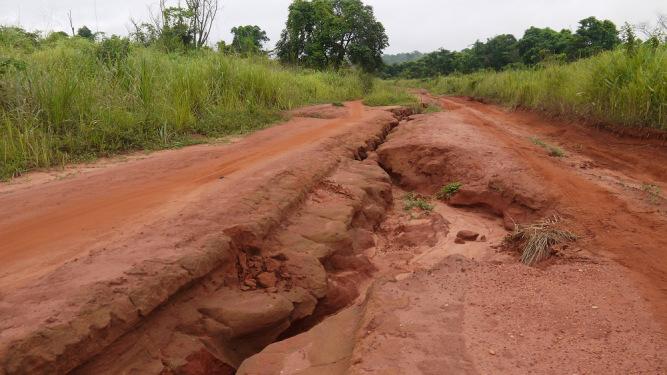 The road to Berberati. (c) UNICEF/ CAR/2014