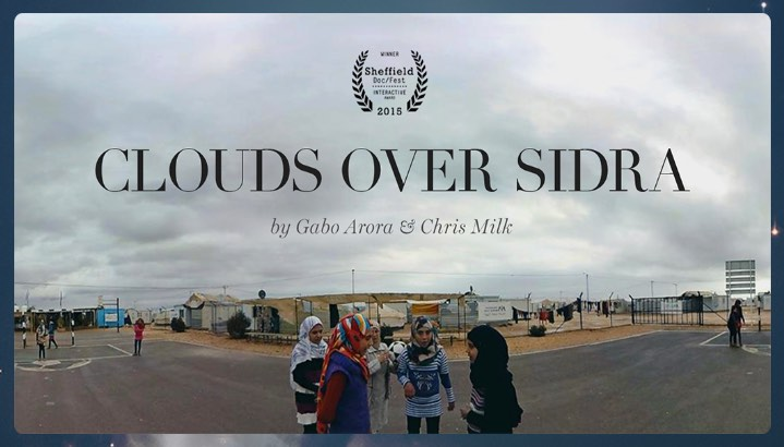 Thumbnail for the virtual reality experience Clouds Over Sidra