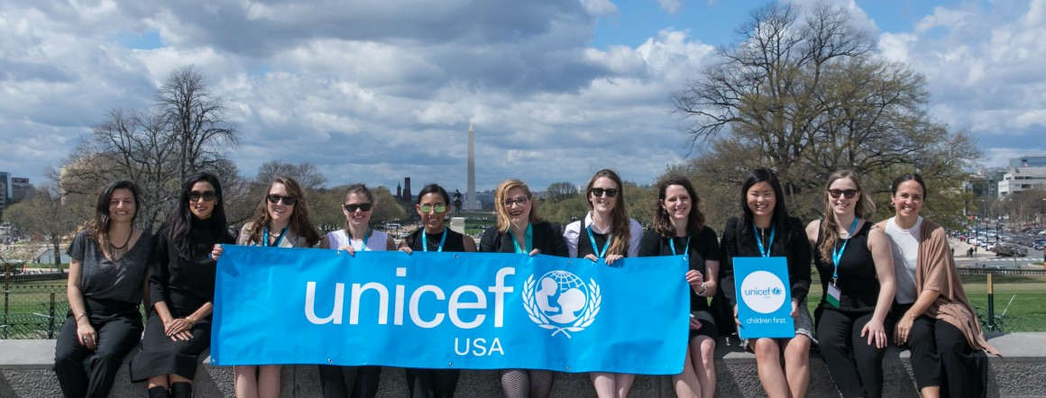 All smiles on UNICEF USA Advocacy Day