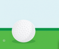 drawing or computer graphic of a golf ball