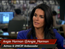 UNICEF Ambassador Angie Harmon speaks on Huff Post Live