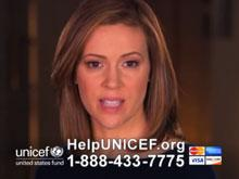 "UNICEF USA: ""These Children are Facing Death Every Day"" - Alyssa Milano"