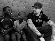Joel Madden in Central African Republic