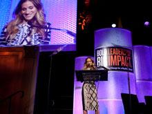 Sarah Jessica Parker at the Global Business Coalition Conference