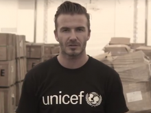 David Beckham speaks about Syria