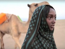 It takes Aysha, 13-years old, 8 hours each day, round trip, to collect water for herself and her family in Afar, Ethiopia.