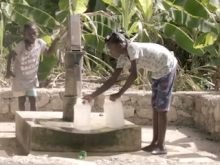 In Haiti, Rosmaine Jean knows how to purify well water to keep her family free of cholera.