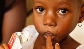Give a starving child miracle food