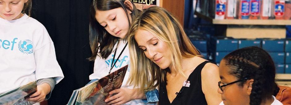 Sarah Jessica Parker and Trick-or-Treat for UNICEF