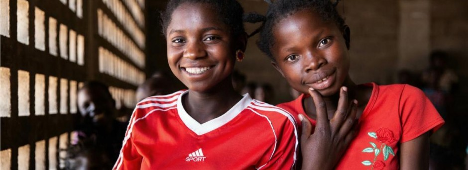 Adolescent girls in Central Africa Republic