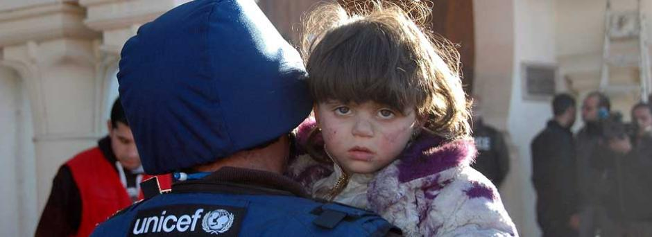 Girl in Syria/Homs
