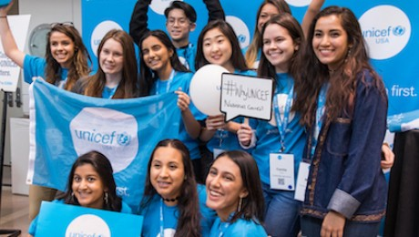Students from 50 states gathered in Washington, D.C. for the 2018 UNICEF USA Student Summit in March.