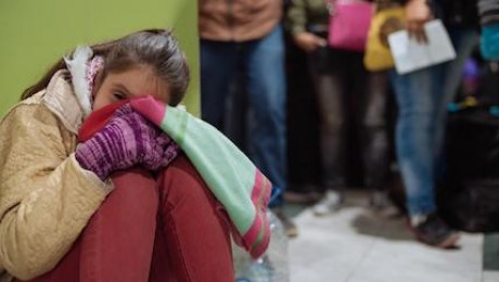 Fleeing deteriorating social and economic conditions at home in Venezuela, 11-year-old Nataly* and her family made the long journey on foot through Colombia to start a new life Ecuador.