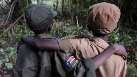 UNICEF works to help secure the release of child soldiers and support their recovery and rehabilitation as they transition back to civilian life.
