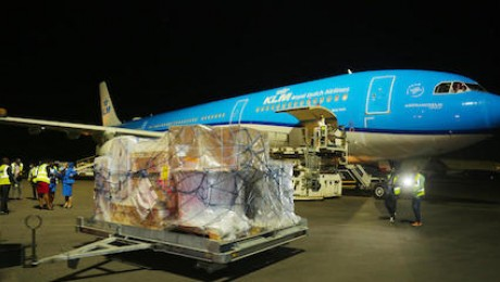 On March 3, 2021, 102,000 Pfizer-BioNTech mRNA COVID-19 vaccines arrived in Rwanda, the first African country to receive the Pfizer vaccines through COVAX.
