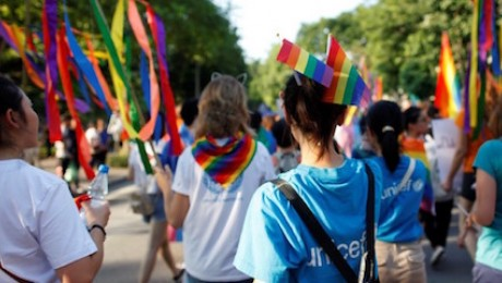 UNICEF advocates for the rights of LGBTQ children and adolescents to grow up free from discrimination and abuse.