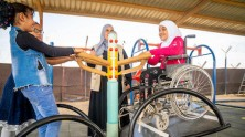 Unicef, Syrian refugees, Za'atari, children with disabilities