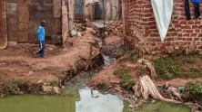 Many densely-populated residential areas in countries like Uganda lack safe sanitation, putting children's health at risk.
