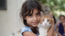 Fatme, 8, and her family were caught in the devastating blast that rocked Beirut on August 4, 2020.