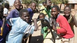 A group of boys in Malawi