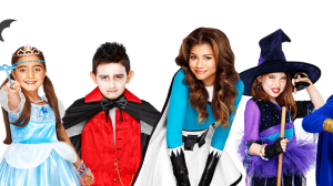Trick-or-Treat Home Page Banner Zendaya 8 Bit