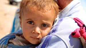 Children of Amerli and Sinjar, Iraq have received aid from UNICEF.