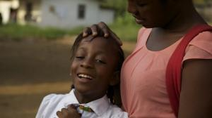 Mercy Kennady, 9-years-old, of Monrovia, Liberia's Paynesville suburb, lost her mother during West Africa's Ebola outbreak.