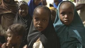 Girls in Kano, Nigeria. In September 2015, W.H.O announced that polio is no longer endemic in Nigeria.