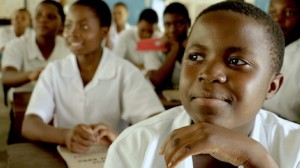 UNICEF and Lawrence O'Donnell's K.I.N.D. Fund are giving 14-year-old poet and aspiring doctor Joyce Chisale the power — and platform — to change her world