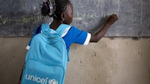 In 2018, UNICEF provided school supplies to 11.3 million children and education materials to more than 24,000 classrooms.